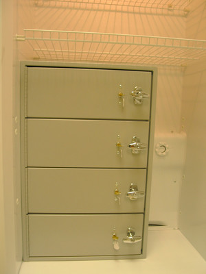 ELNR Evidence locker insert for your existing refrigerator