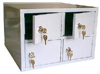Table Mount Pistol Lockers